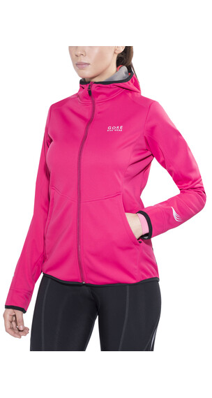 GORE BIKE WEAR Element WS SO Hoody Lady jazzy pink/giro pink
